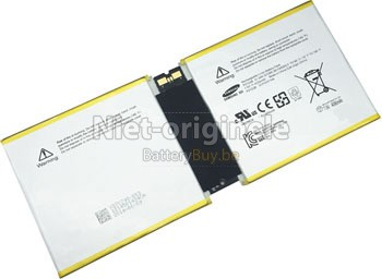 2 Cellen 31.3Wh Microsoft Surface RT2 1572 Pluto batterij